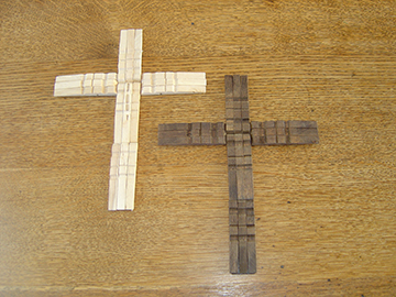 the cross as desired be sure to follow packaging directions crosses ...