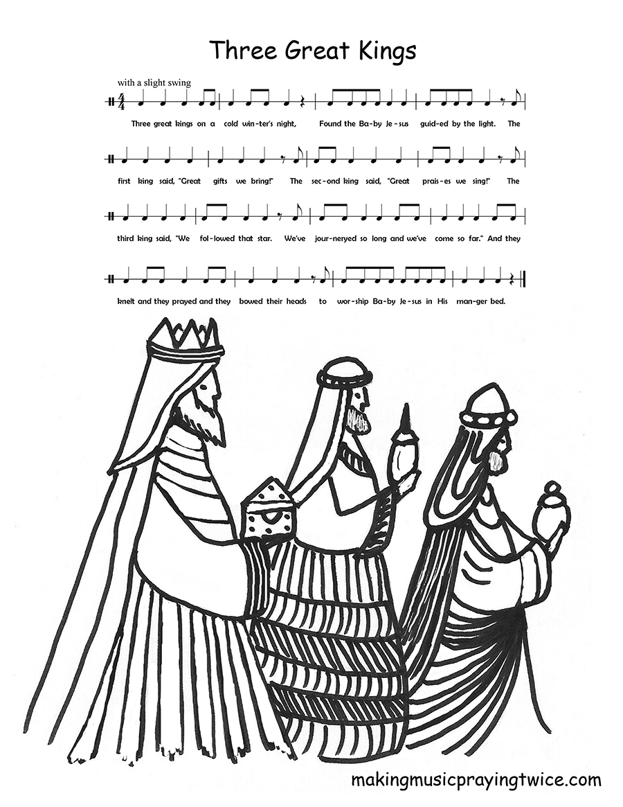 Advent Christmas Coloring Pages